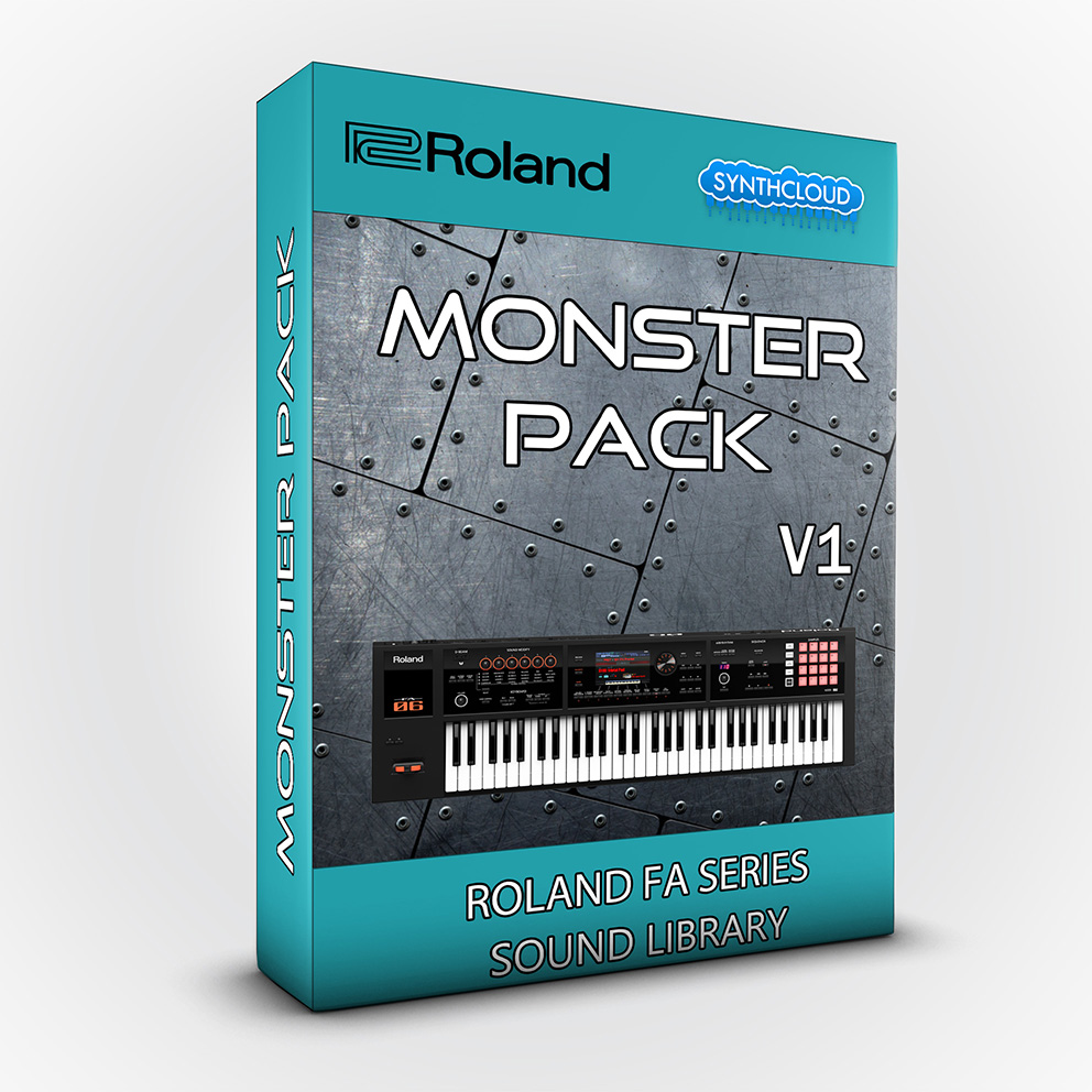 LDX188 - Monster Pack V1 - Roland FA series