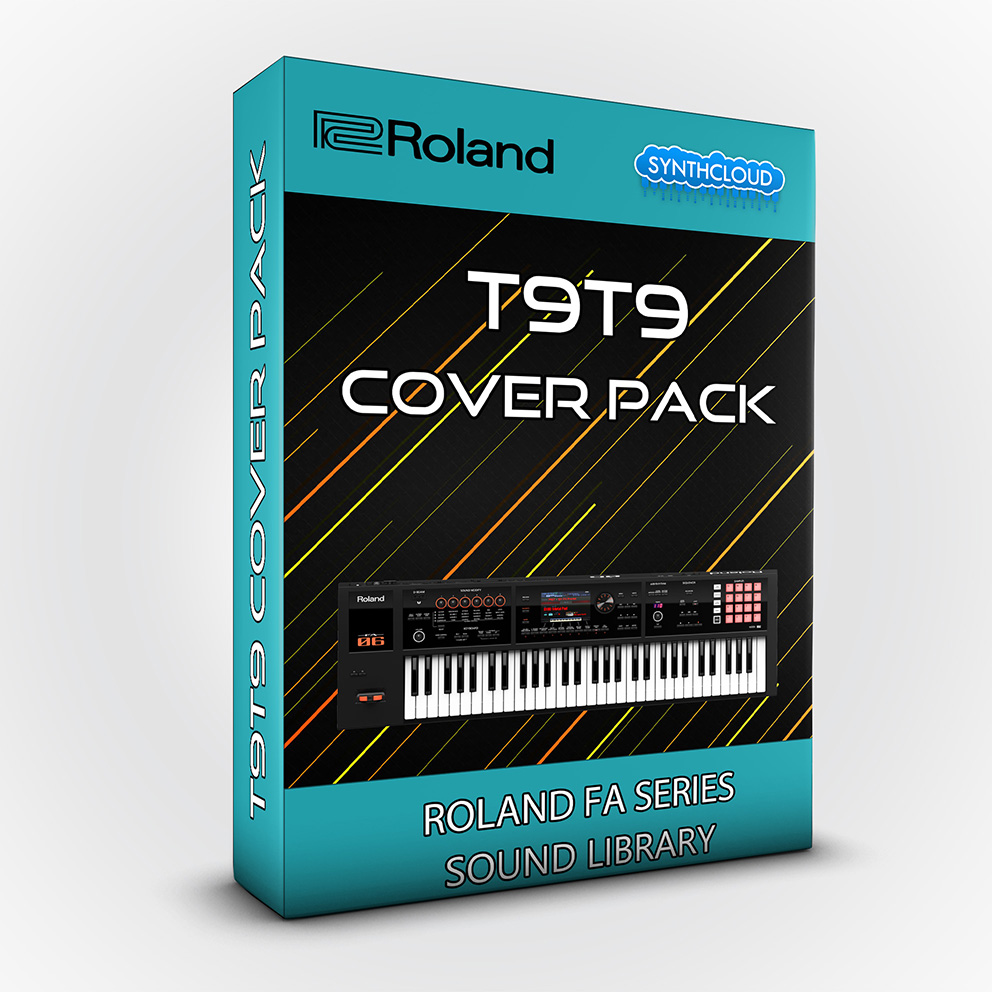 LDX181 - T9t9 Cover Pack - Roland FA Series