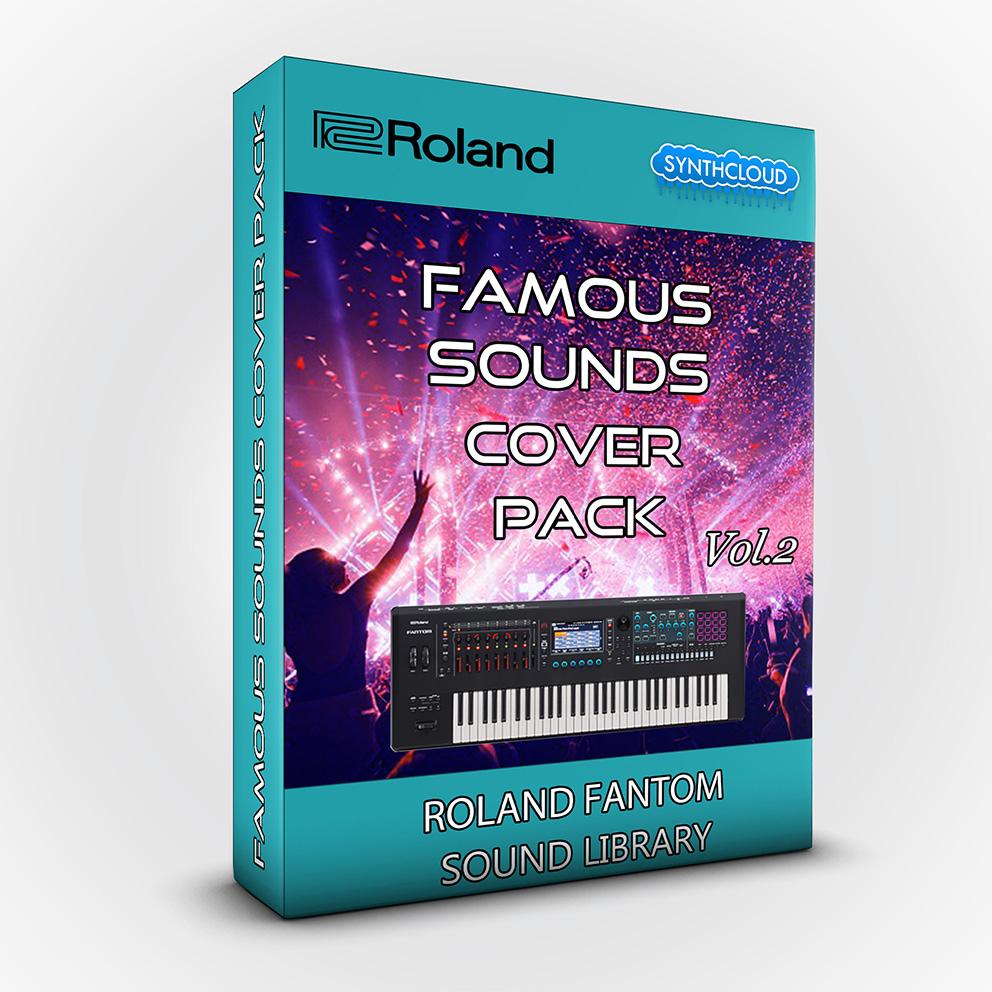 SCL208 - Famous Sounds Cover Pack Vol.2 - Roland Fantom