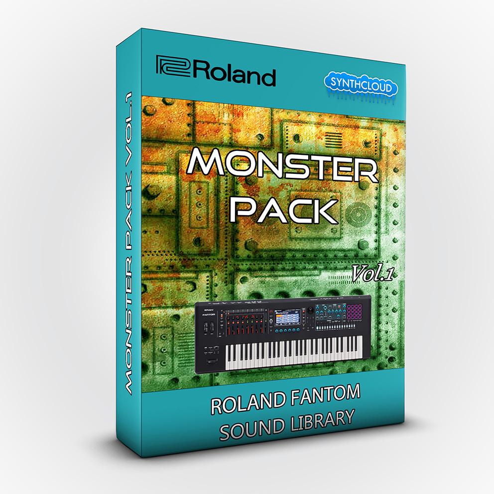 SCL257 - Monster Pack V.1 - Roland Fantom