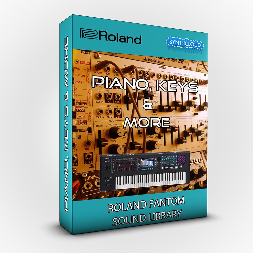 SCL215 - Piano Keys & More - Roland Fantom