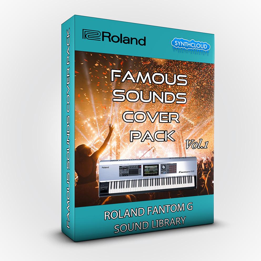 SCL152 - Famous Sounds Cover Pack Vol.1 - Roland Fantom G