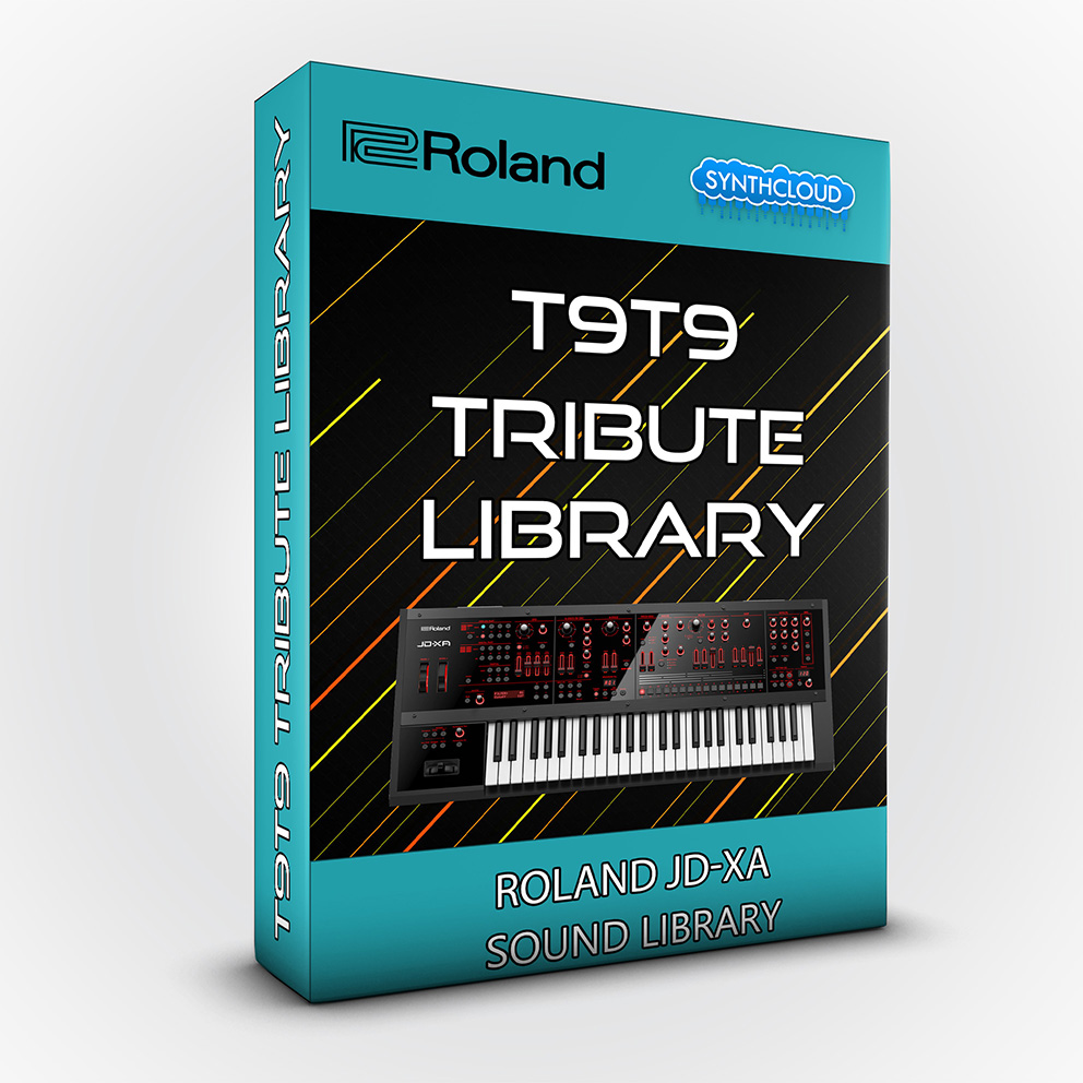SCL119 - T9t9 Tribute Library - Roland Jd-Xa