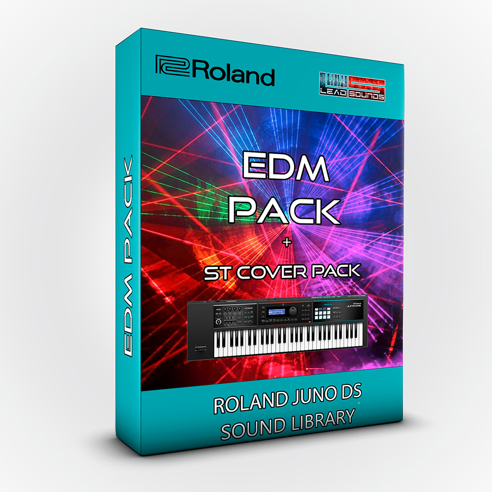 SCL88 - EDM Pack + STRANGER THINGS Cover Pack  Roland Juno Ds