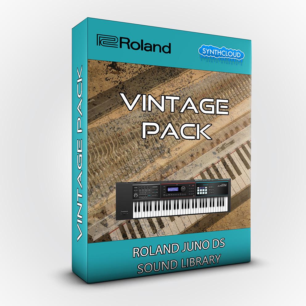 LDX194 - Vintage Pack - Roland Juno Ds