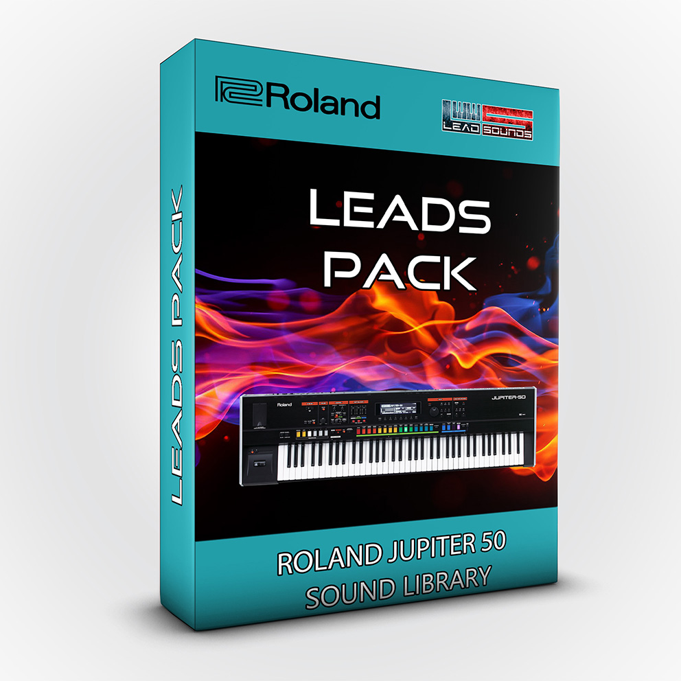 LDX105 - Leads Pack - Roland Jupiter 50