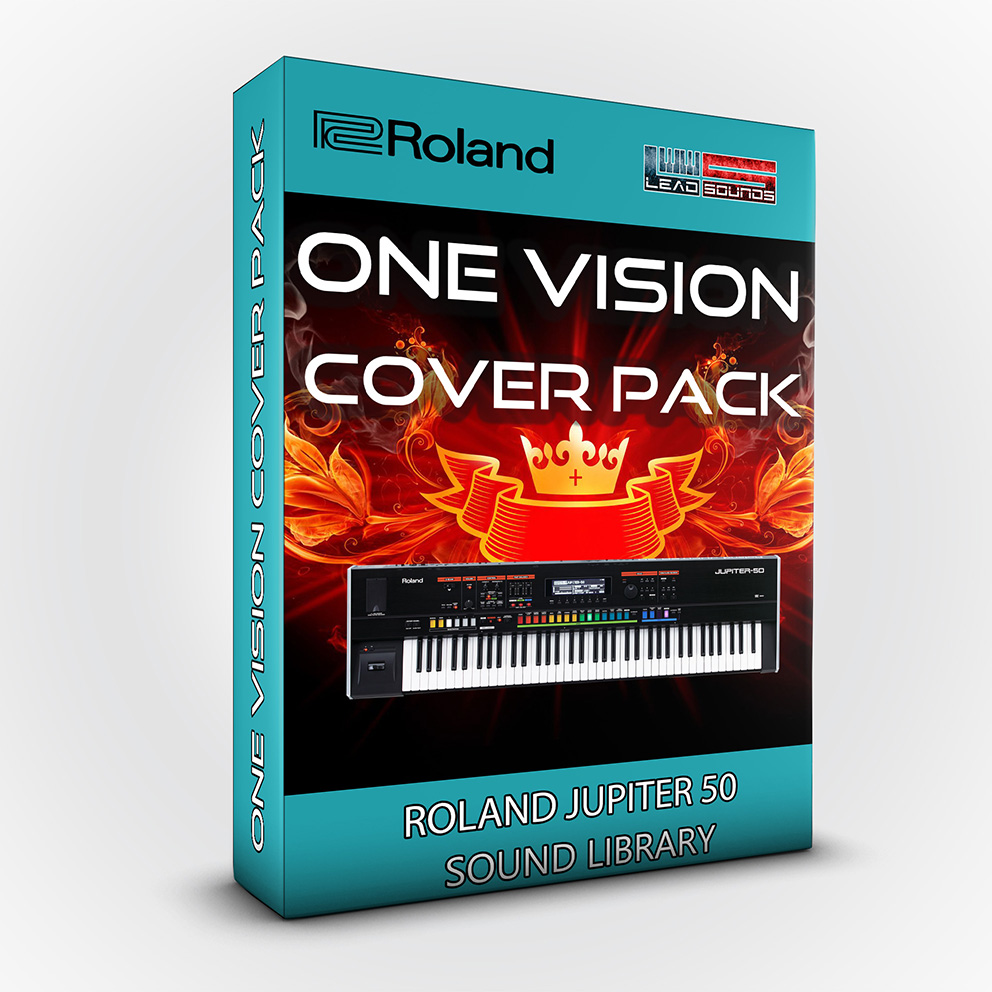 LDX172 - One Vision Cover Pack - Roland Jupiter 50