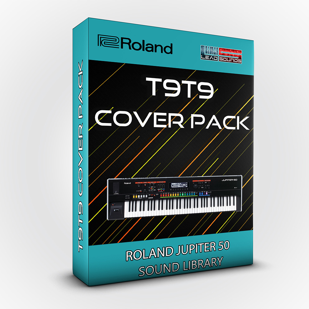 LDX181 - T9t9 Cover Pack - Roland Jupiter 50