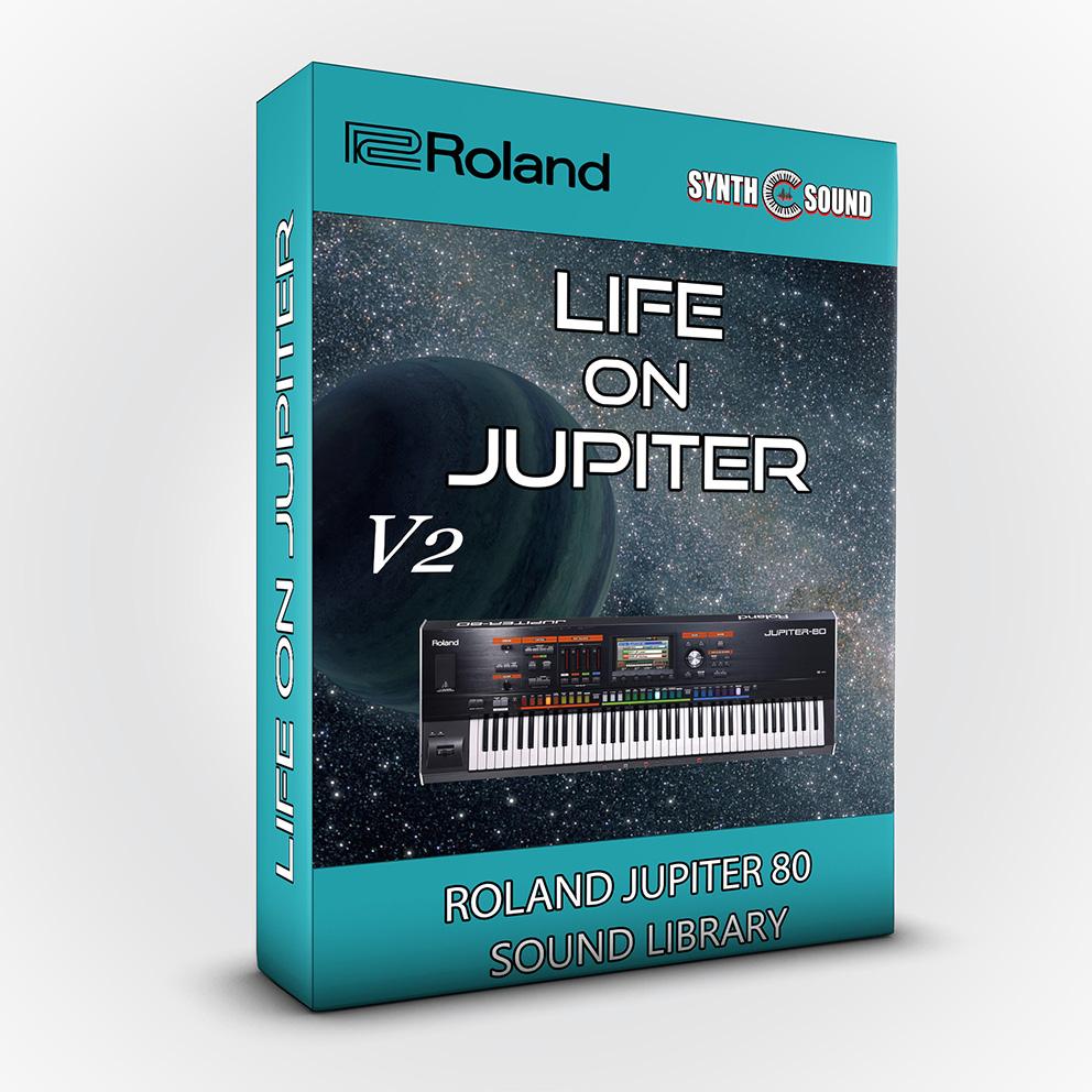 SSX121 - Life On Jupiter V.2 - Roland Jupiter 80