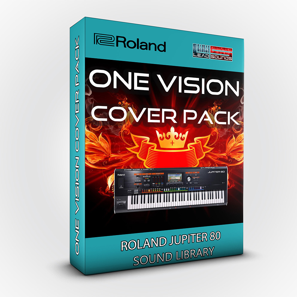 LDX172 - One Vision Cover Pack - Roland Jupiter 80