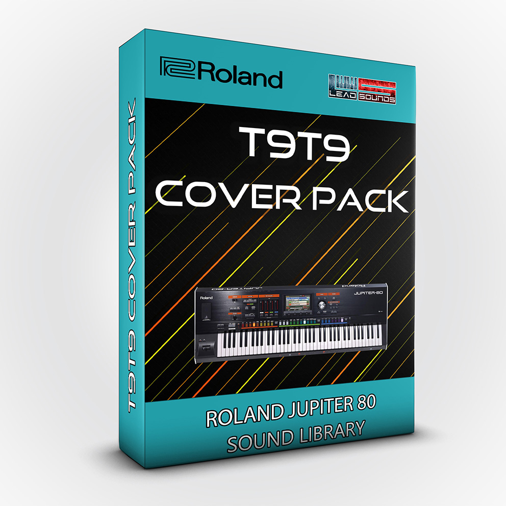 LDX181 - T9t9 Cover Pack - Roland Jupiter 80