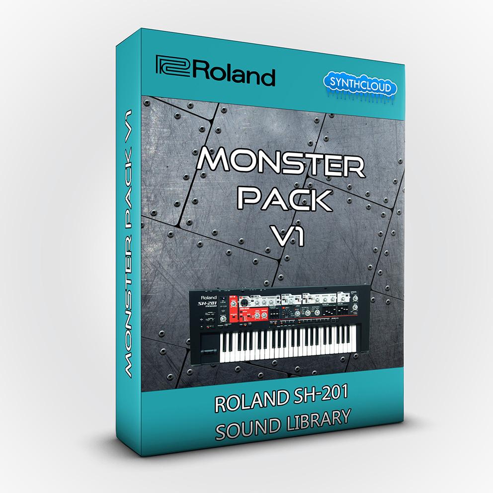 SCL242 - Roland SH201 - Monster Pack V1