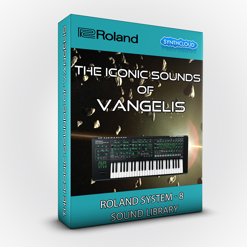 SCL48 - The iconic sounds of Vangelis - Roland System-8 ( + Roland Cloud software version )
