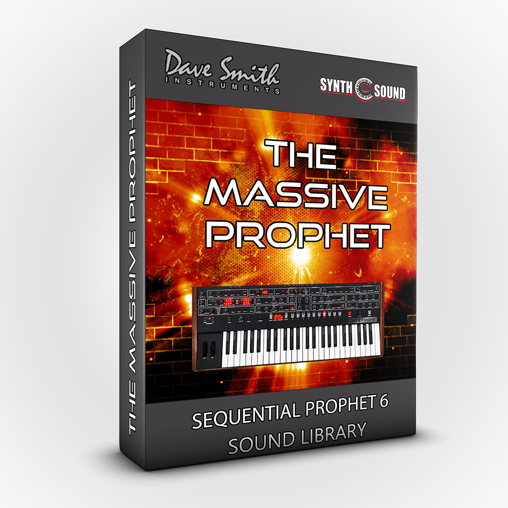 SSX129 - The Massive Prophet - DSI Sequential Prophet 6 / Module