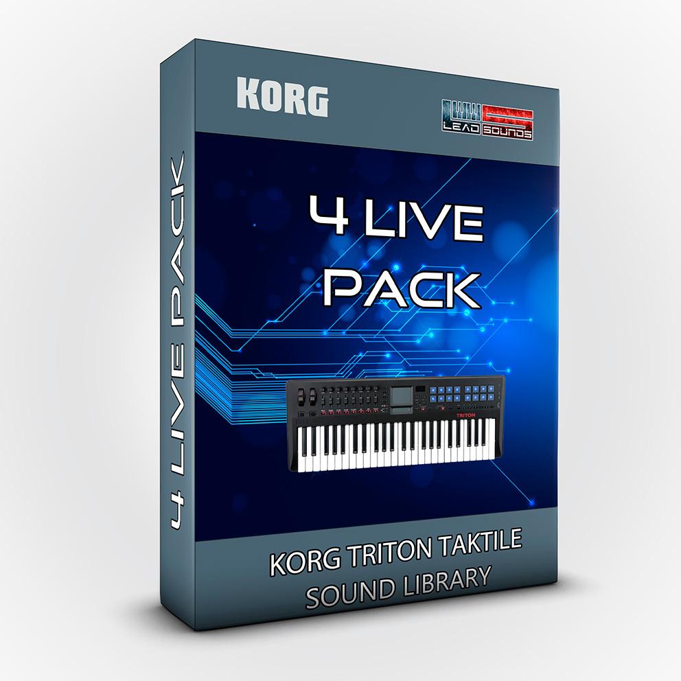 LDX06 - 4live Pack - Korg Triton Taktile