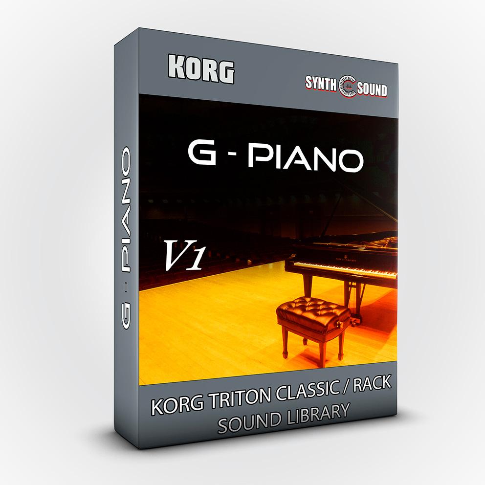 G - Piano V.1 - Korg Triton CLASSIC / RACK