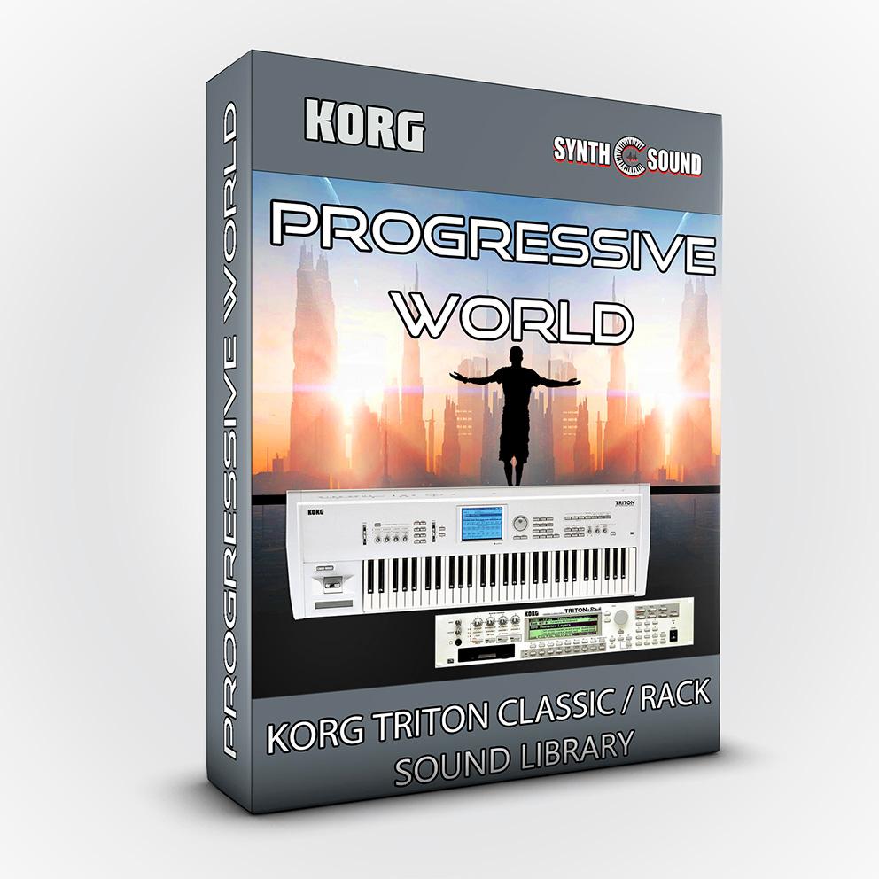 SSX111 - Progressive World - Korg Triton CLASSIC / RACK