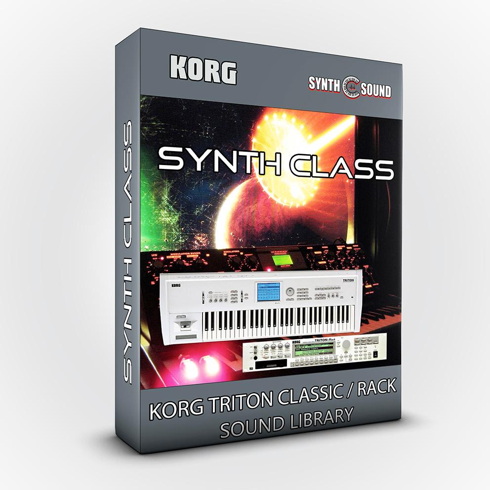 SSX113 - Synth Class - Korg Triton CLASSIC / RACK