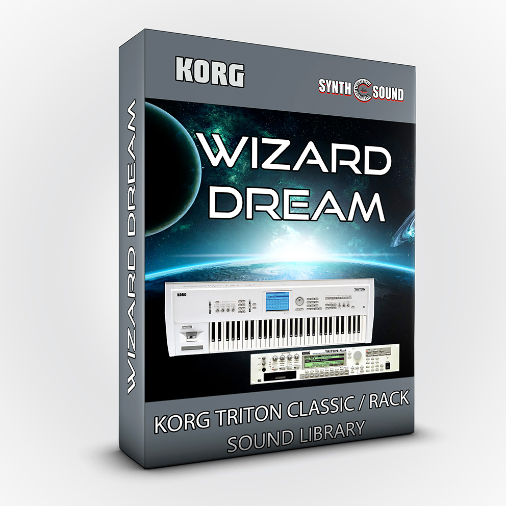 SSX107 - Wizard Dream - Korg Triton CLASSIC / RACK