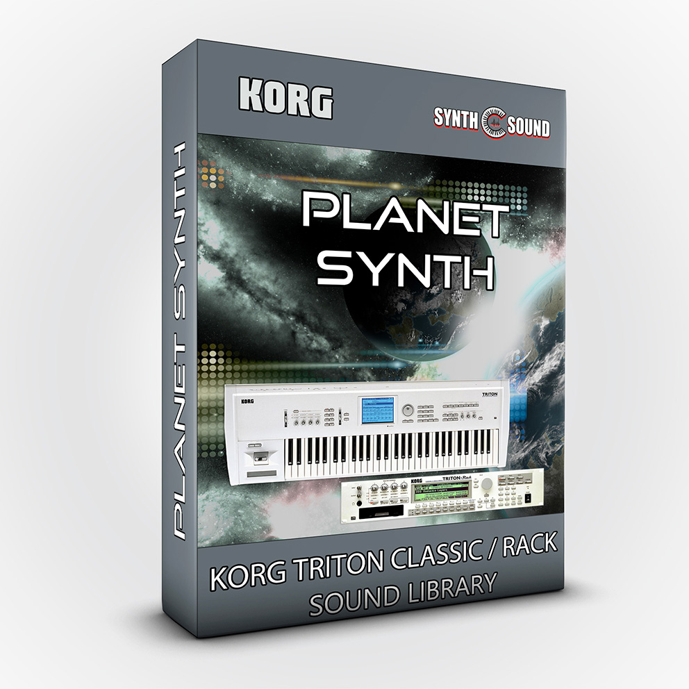 SSX104 - Planet Synth - Korg Triton CLASSIC / RACK