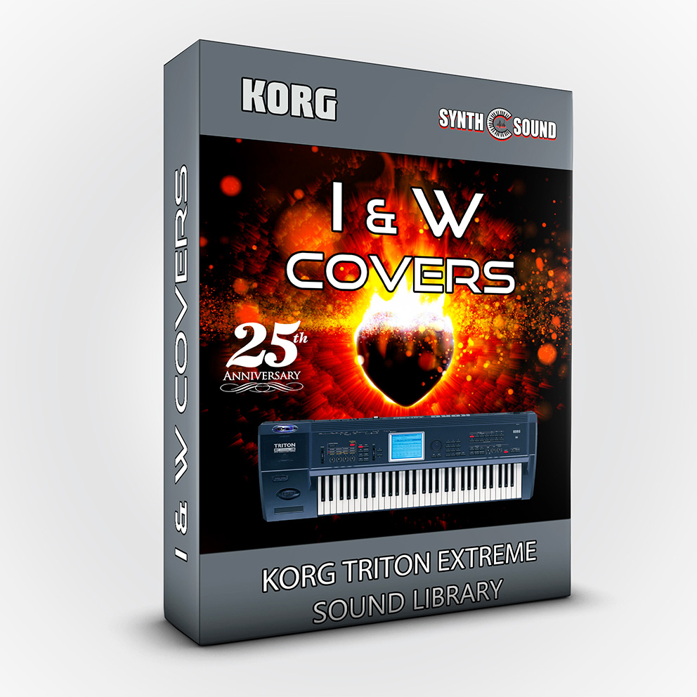 I&W Covers / 25th Anniversary - Korg Triton Extreme
