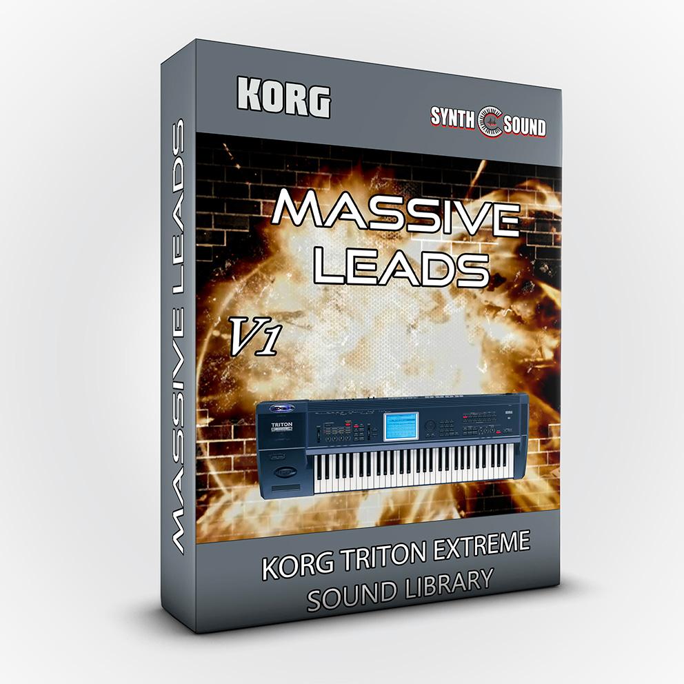 SSX110 - Massive Leads - Korg Triton EXTREME