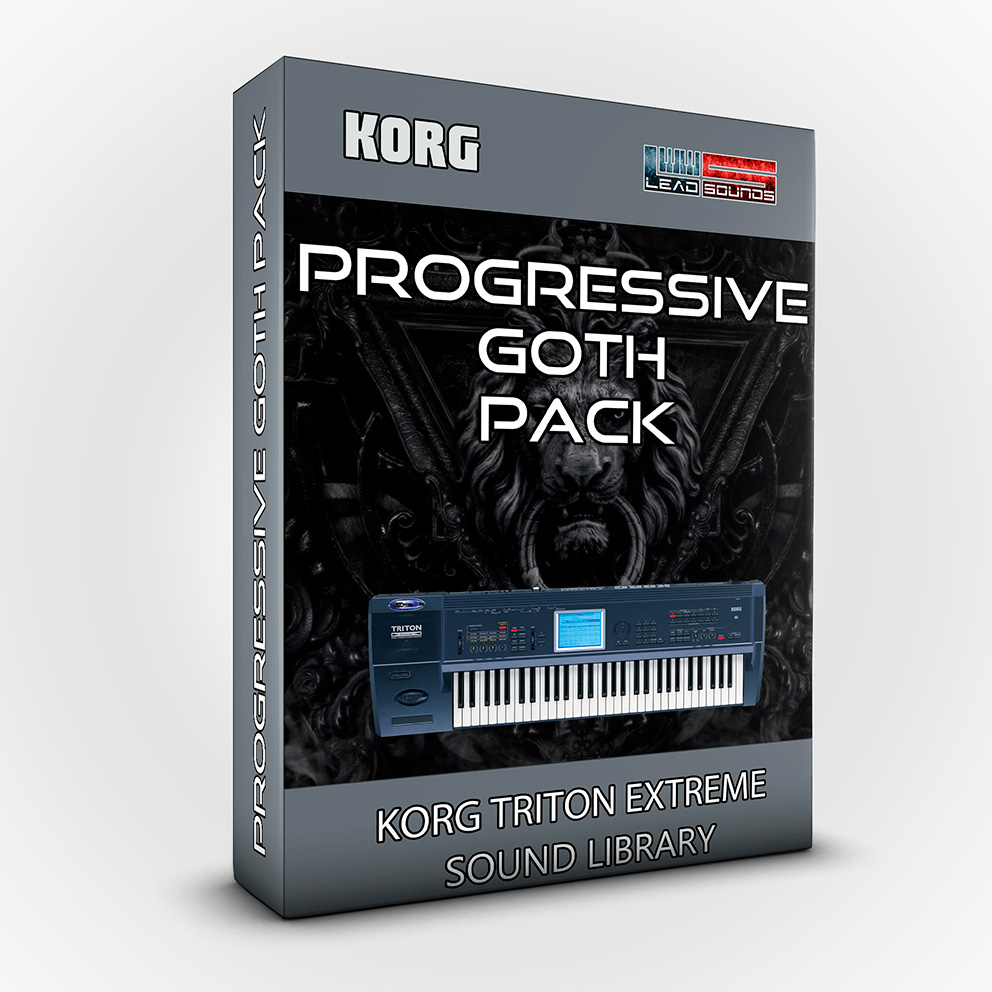 SCL02 - Progressive Goth Pack - Korg Triton EXTREME
