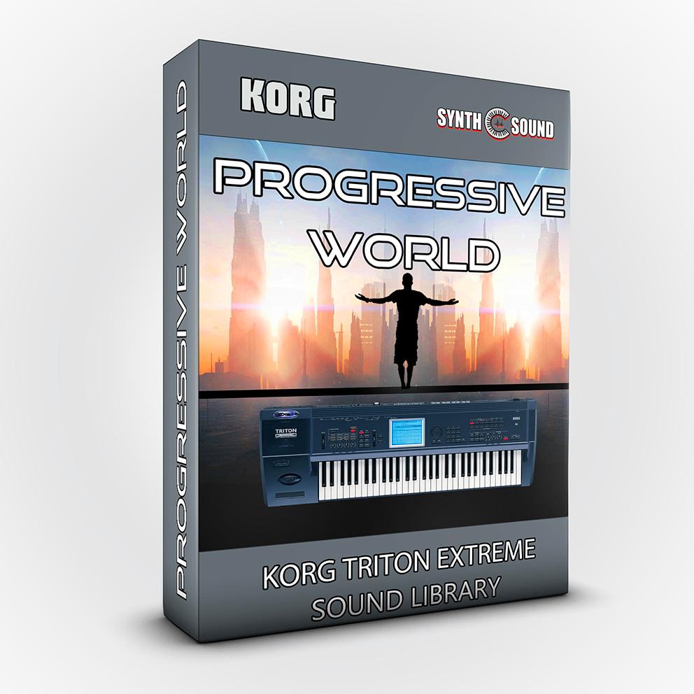 SSX111 - Progressive World - Korg Triton EXTREME