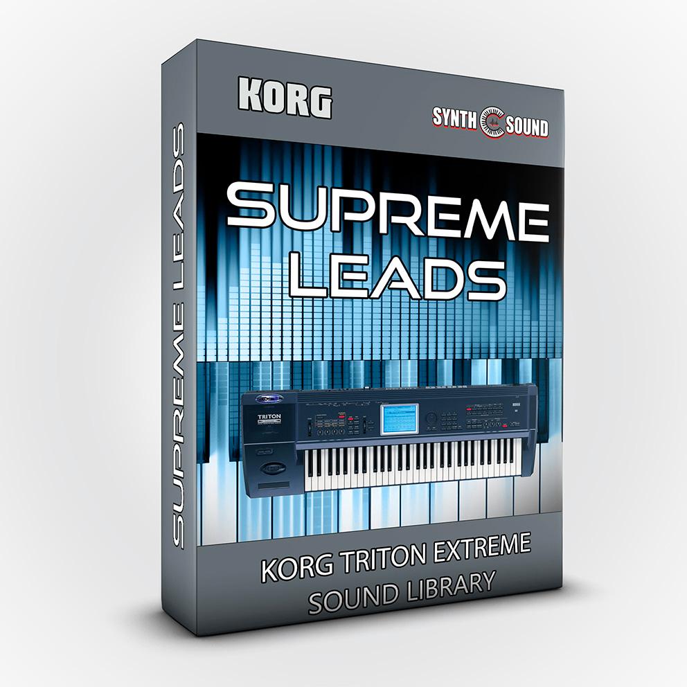 SSX112 - Supreme Leads - Korg EXTREME
