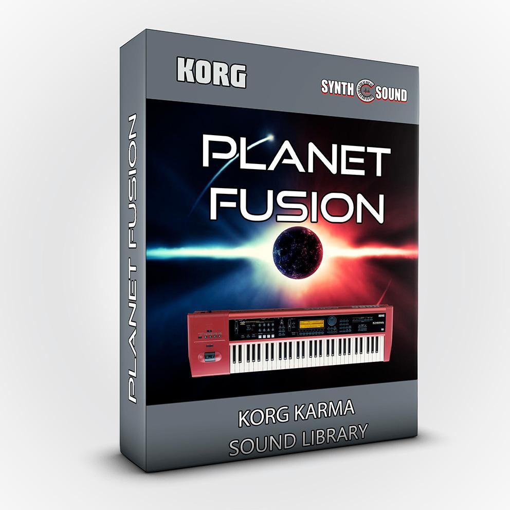 SSX108 - Planet Fusion - Korg KARMA