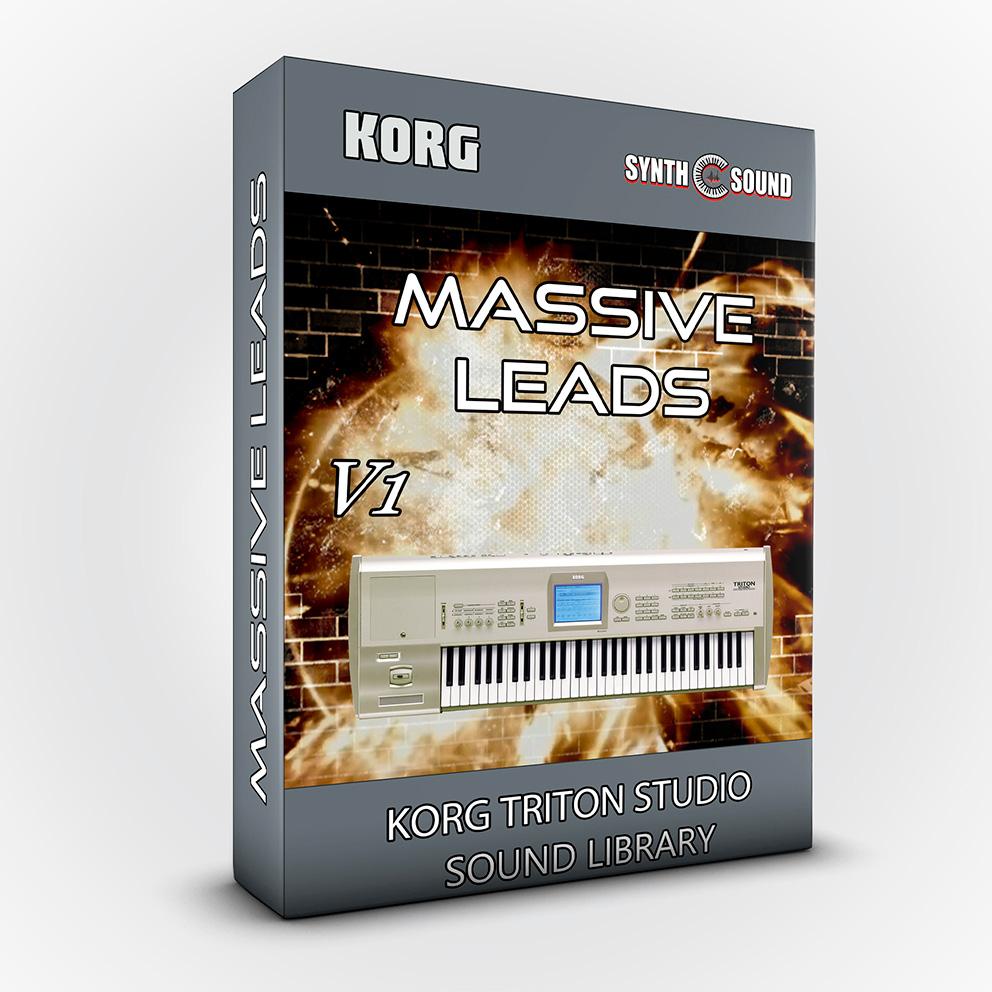 SSX110 - Massive Leads - Korg Triton STUDIO