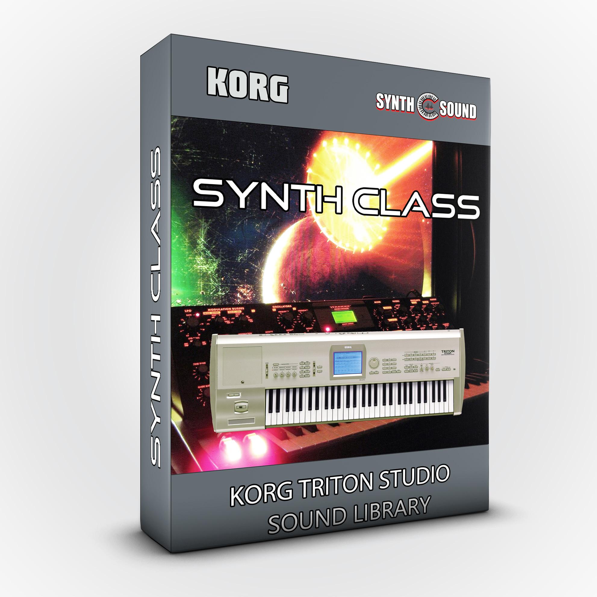 SSX113 - Synth Class - Korg Triton STUDIO