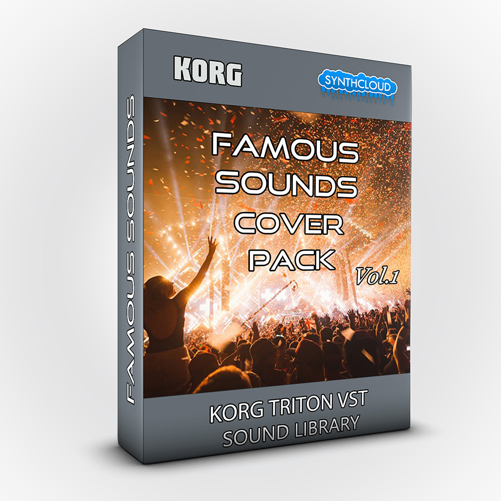 SCL152 - Famous Sounds Cover Pack Vol. 1 - Korg Triton VST
