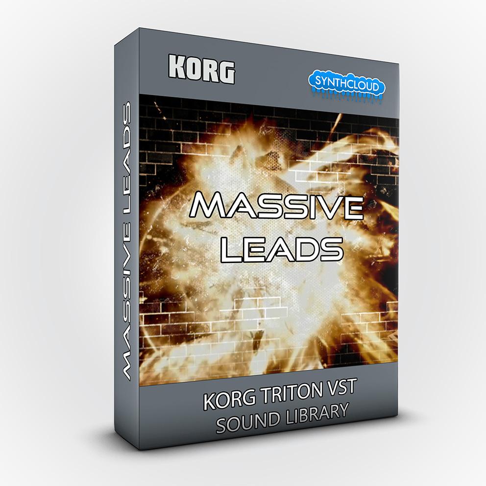 SSX110 - Massive Leads - Korg Triton VST
