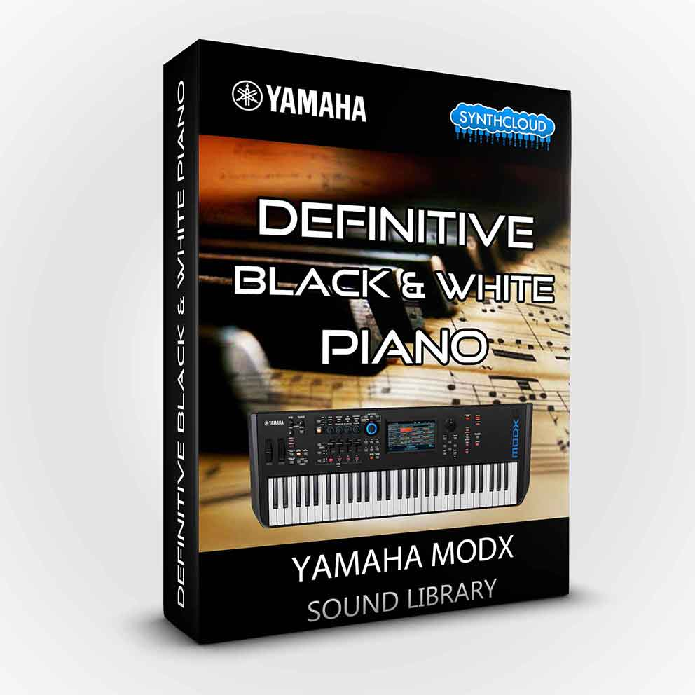 SCL181 - Definitive Black & White Piano - Yamaha MODX