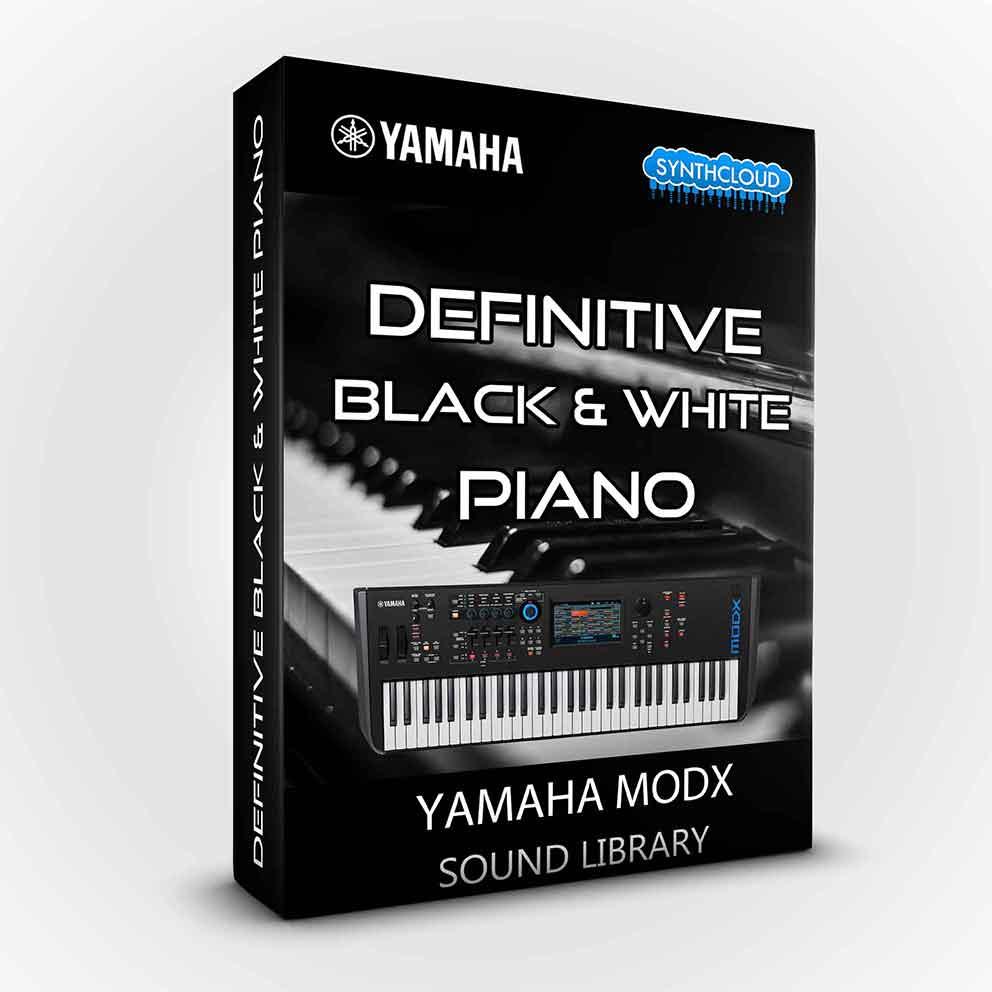 SCL181 - Definitive Black & White Piano - Yamaha Modx