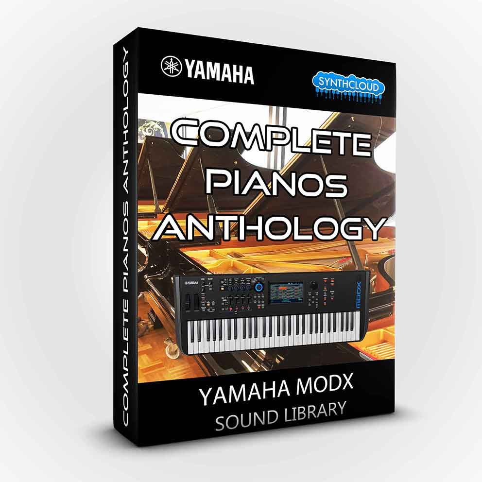 SCL212 - Complete Pianos Anthology - Yamaha Modx