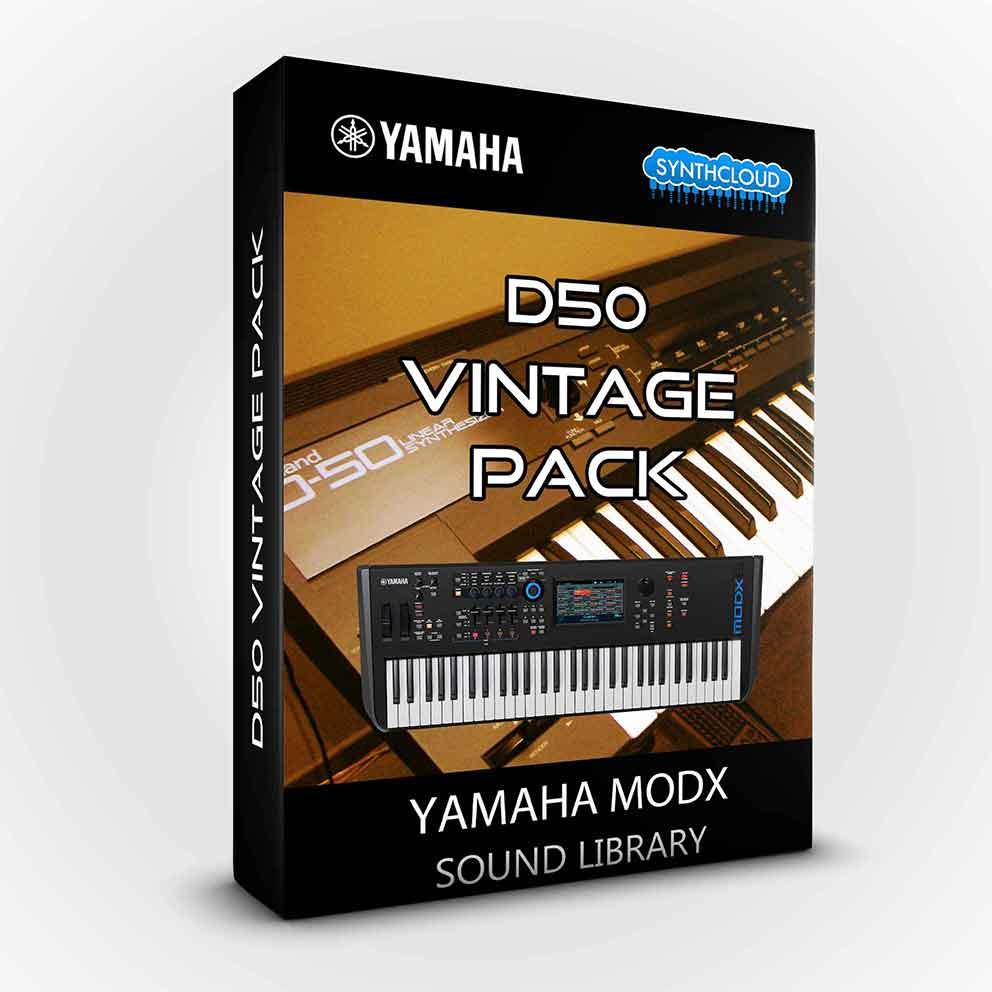 SCL223 - D50 Vintage Pack - Yamaha MODX