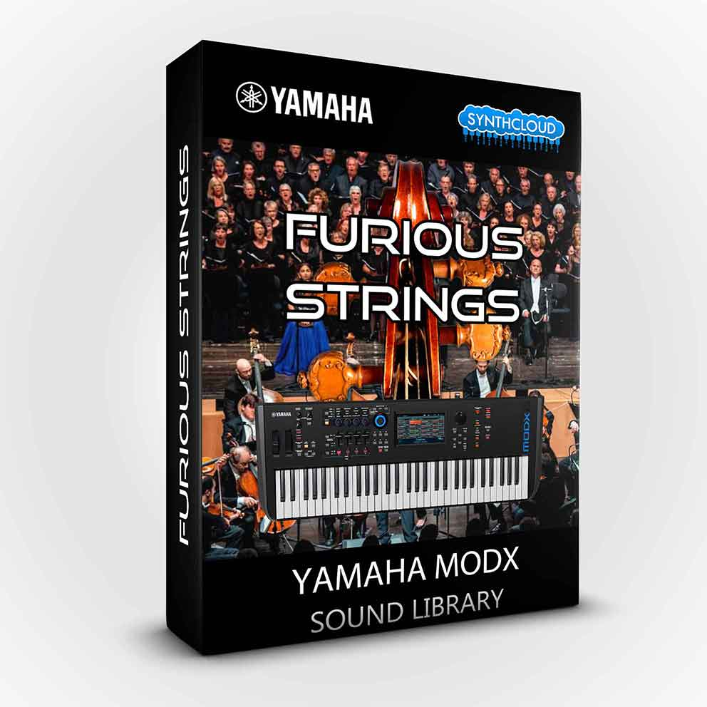 SCL236 - Furious Strings - Yamaha MODX