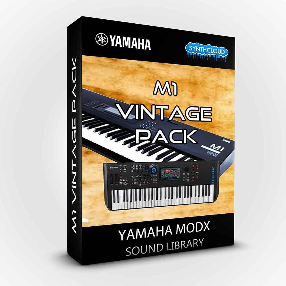 SCL268 - M1 Vintage Pack - Yamaha MODX