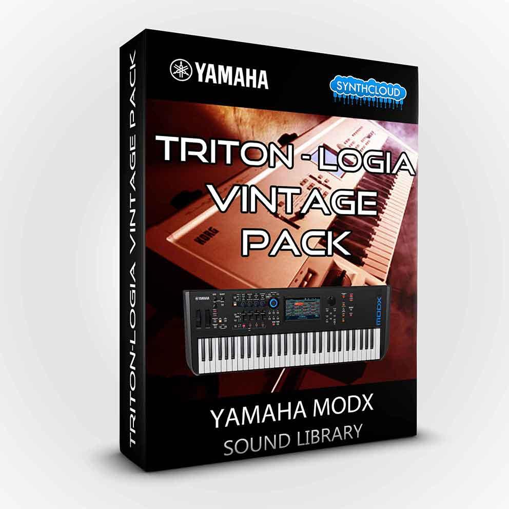 SCL222 - Triton-logia Vintage Pack - Yamaha MODX