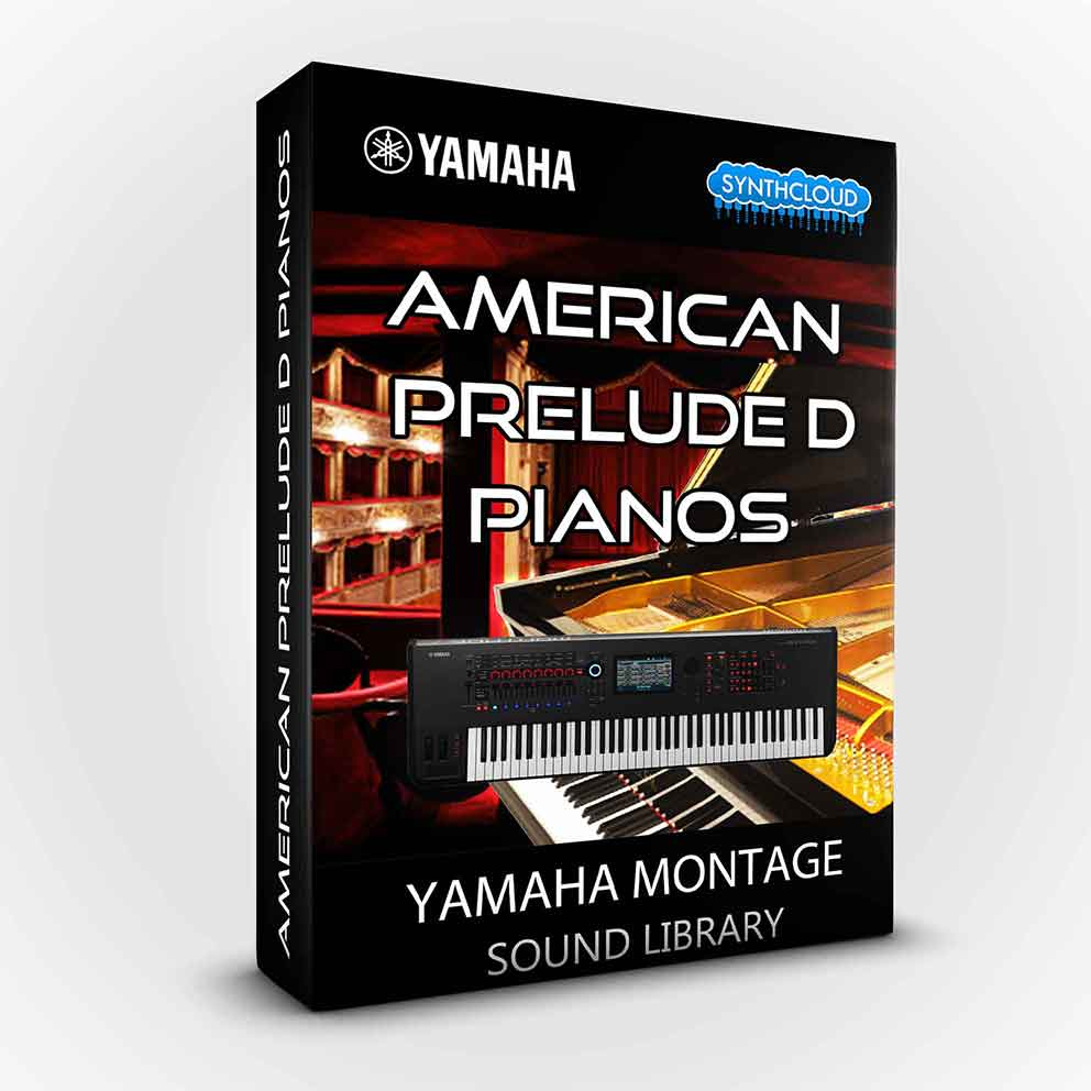 SCL225 - American Prelude D Pianos - Yamaha MONTAGE