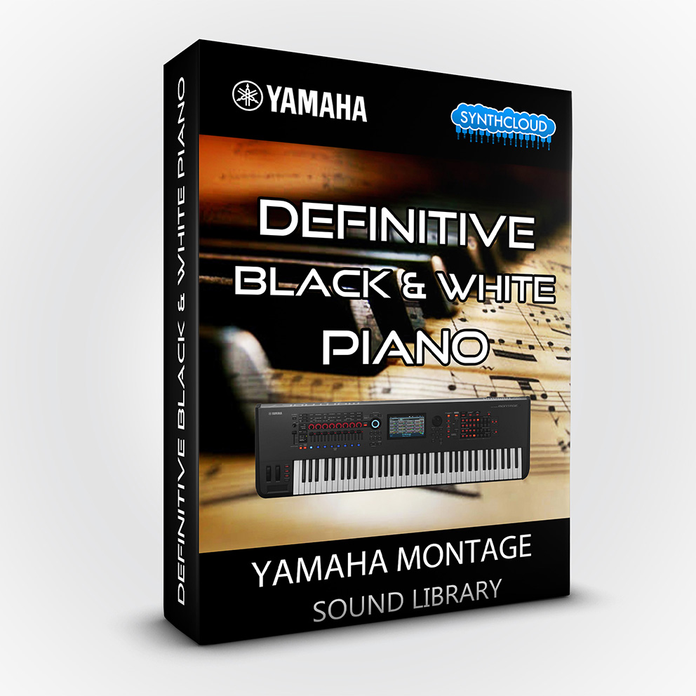 SCL181 - Definitive Black & White Piano - Yamaha MONTAGE