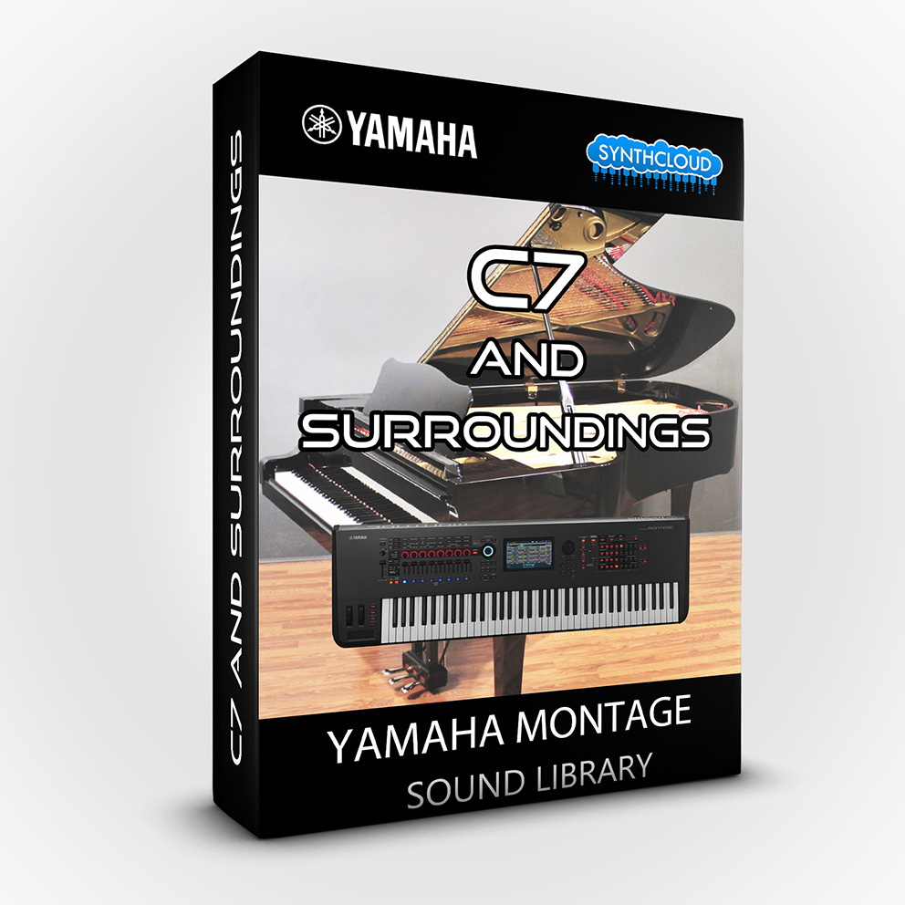SCL126 - C7 and surroundings - Yamaha MONTAGE