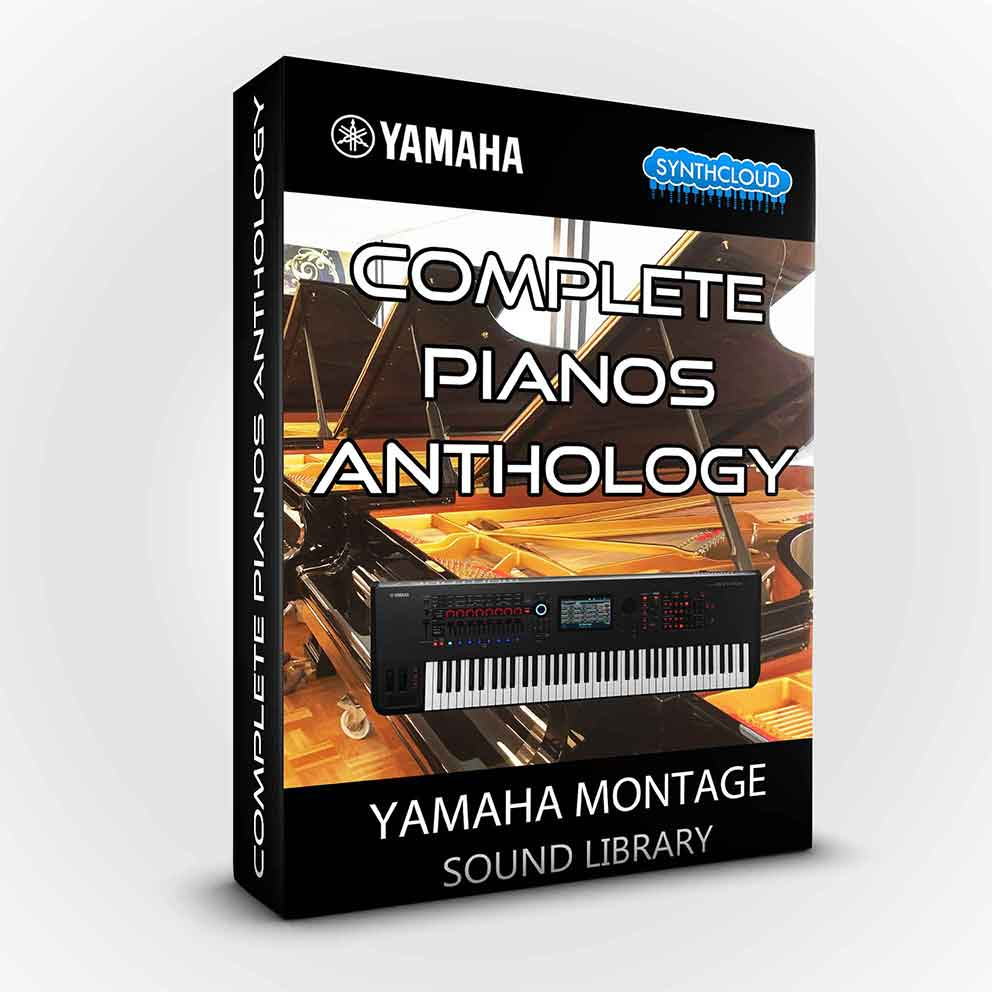 SCL212 - Complete Pianos Anthology - Yamaha Montage