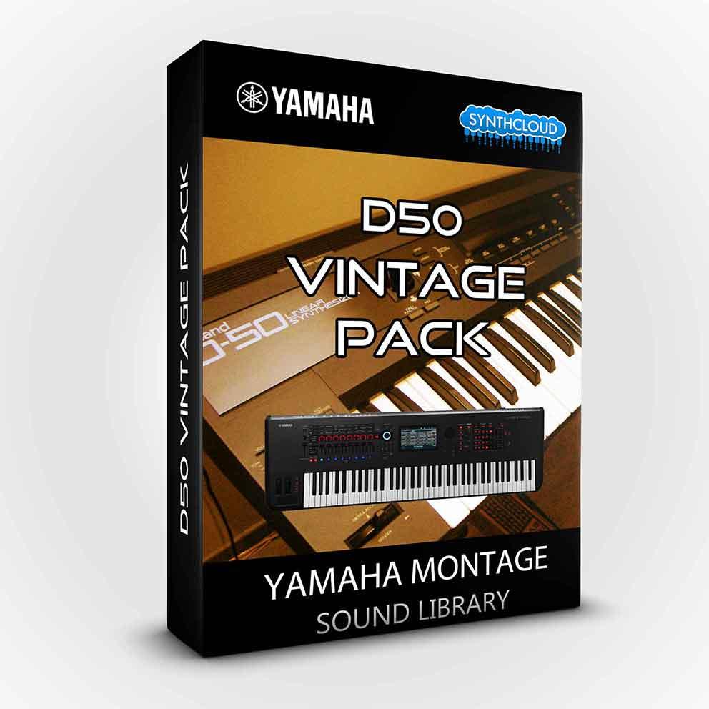 SCL223 - D50 Vintage Pack - Yamaha MONTAGE