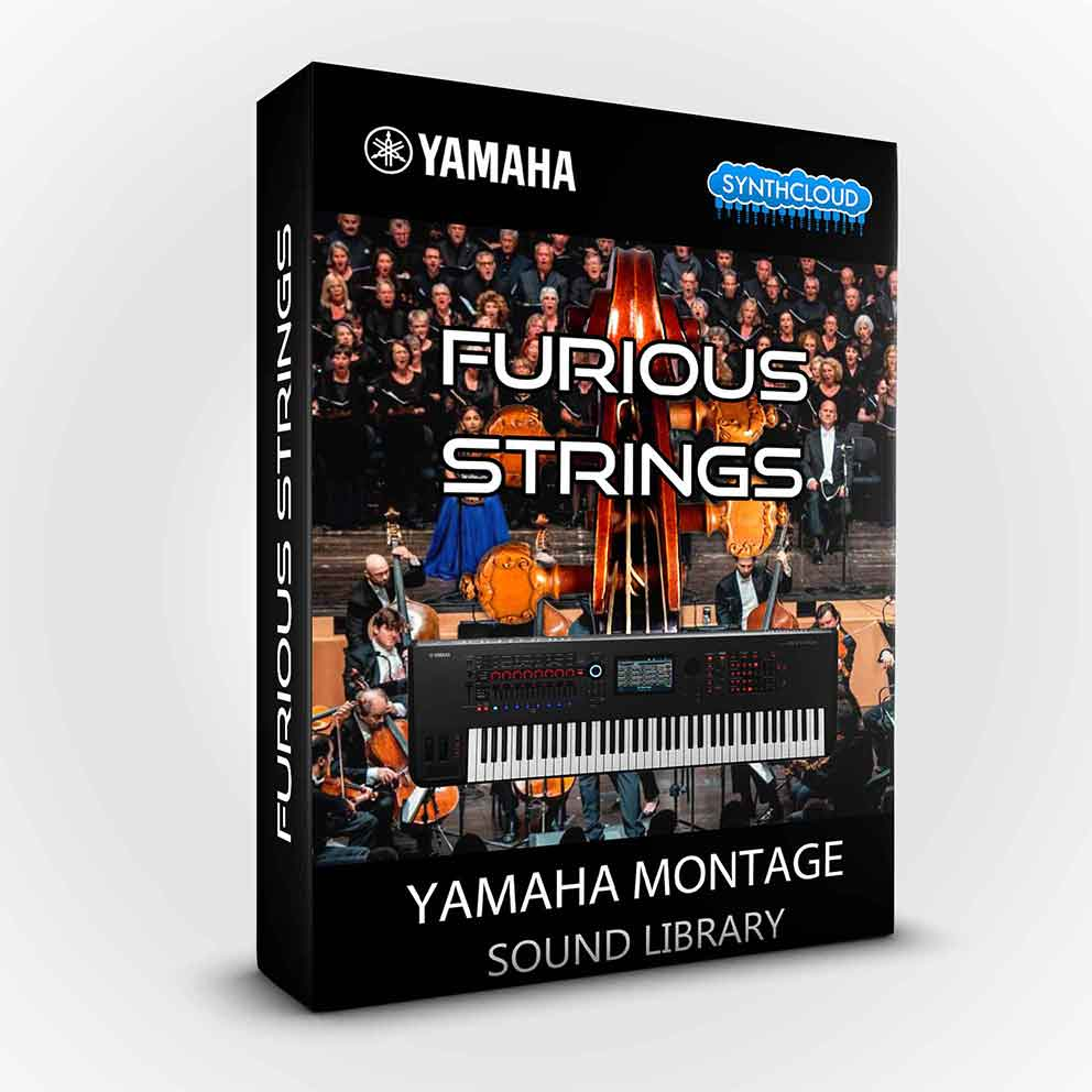 SCL236 - Furious Strings - Yamaha MONTAGE