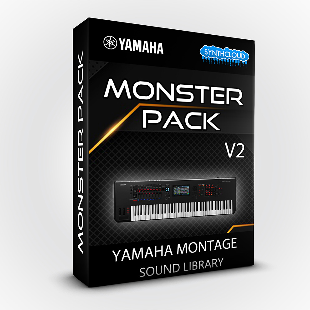 SCL173 - Monster Pack V2 - Yamaha MONTAGE
