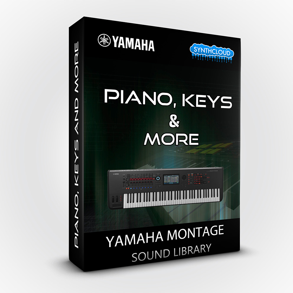 SCL130 - Piano Keys & More - Yamaha MONTAGE