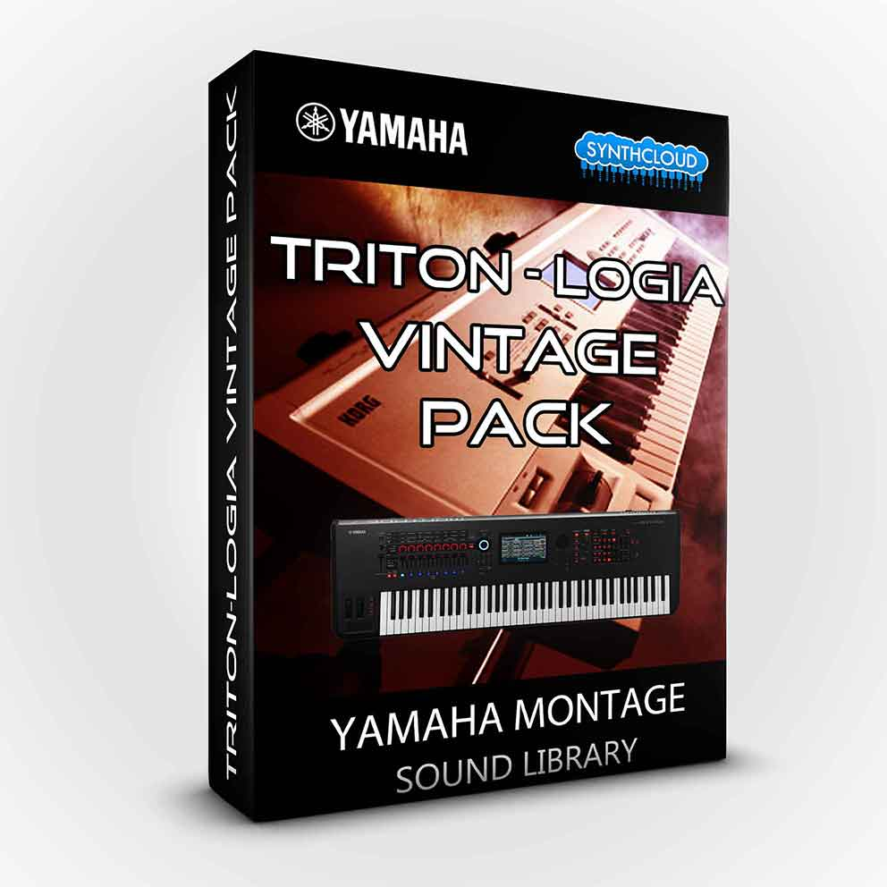 SCL222 - Triton-logia Vintage Pack - Yamaha MONTAGE